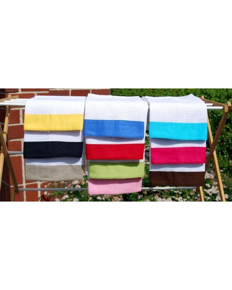 Personalized Waffle Weave Guest Towel