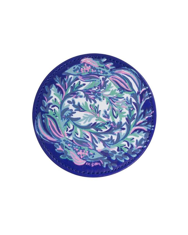 Lilly Pulitzer Scale Up Leatherette Coaster Set