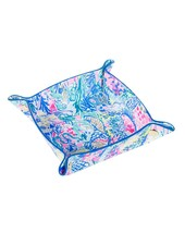 Lilly Pulitzer Leatherette Valet Tray