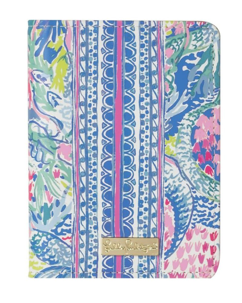 Lilly Pulitzer Mermaids Cove Passport Cover