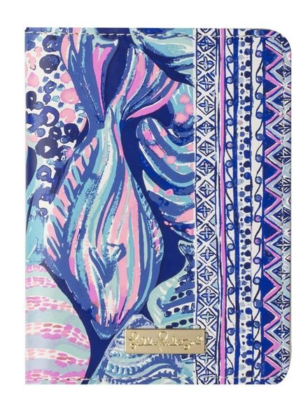 Lilly Pulitzer Scale Up Passport Cover