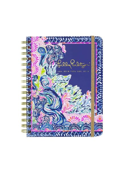 Lilly Pulitzer Seaside Menagerie Large Agenda