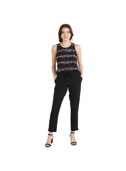 Mudpie Black Crepe Pants