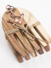 ROYAL STANDARD Anchor Wood Salad Hands