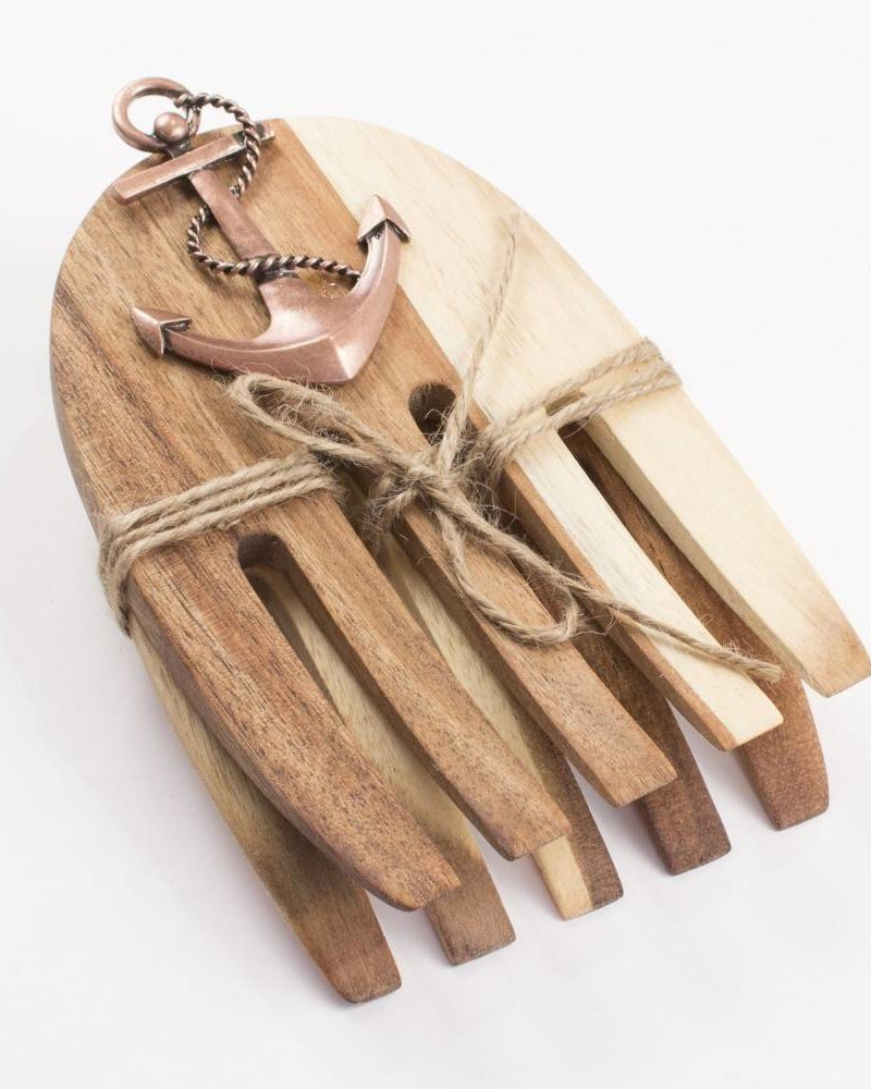 ROYAL STANDARD Anchor Wood Salad Hands