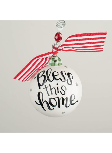 Glory Haus Bless This Home Personalized Ornament
