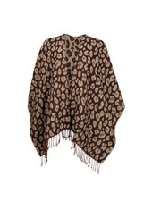Wholesale Boutique Monogrammed Leopard Shawl