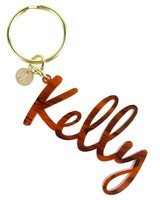 Moon and Lola Moon & Lola Nameplate Keychain