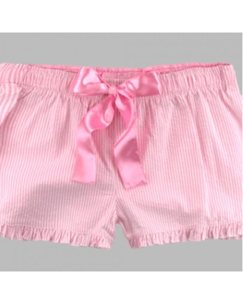 Boxercraft Pink Seersucker Short