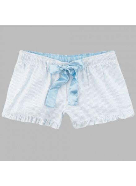 Boxercraft Aqua Seersucker Short
