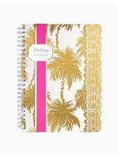 Lilly Pulitzer Metallic Palms Mini Notebook