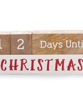 Mudpie Holiday Countdown Blocks
