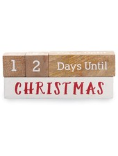 Mudpie Holiday Countdown Blocks