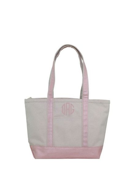 CB Station Metallic Medium Boat Tote - 3 Color Options
