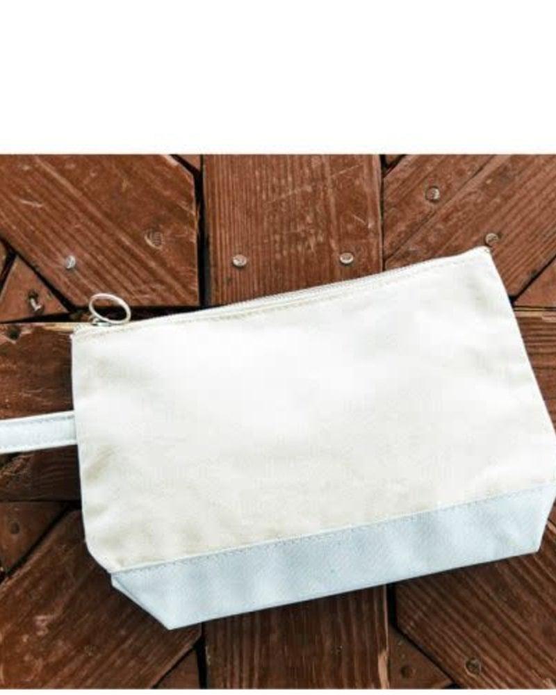 CB Station Metallic Trim Make Up Bag