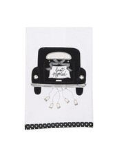 Glory Haus Just Married Tea Towel