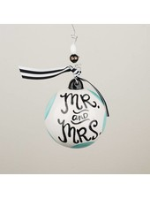 Glory Haus Personalized Mr. & Mrs. Ornament