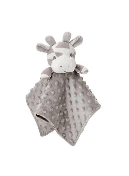 Elegant Baby Grey Giraffe Monogrammed Lovey