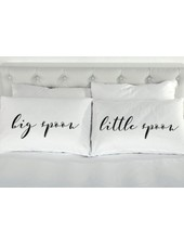 8 Oak Lane Big Spoon Little Spoon Pillow Case Set