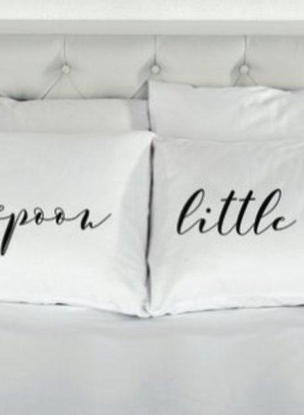 8 Oak Lane Big Spoon Little Spoon Pillow Case Set