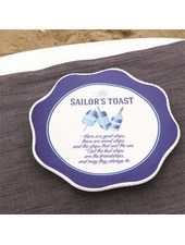 Sailors Toast Plate