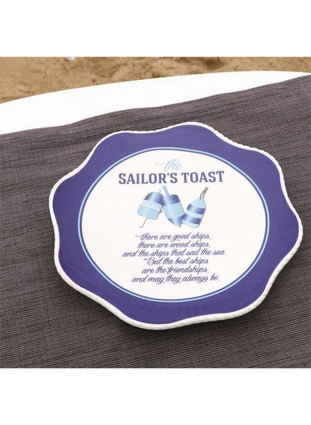 Sailors Toast Plate