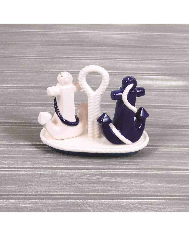 Anchor Salt & Pepper Shakers