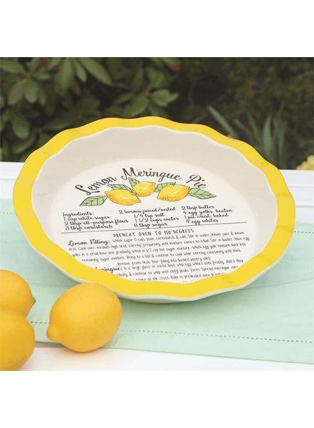 Lemon Meringue Pie Platter