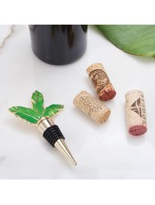 8 Oak Lane Palm Tree Leaf Bottle Stopper