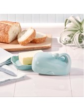 Two's Company Whale Butter Dish