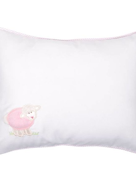 3 Marthas Pink Lamb Baby Pillow