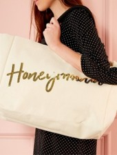 Two's Company Honeymoon Sequin Tote Bags