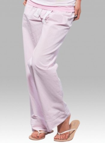 Boxercraft Ladies Pink Seersucker Pant