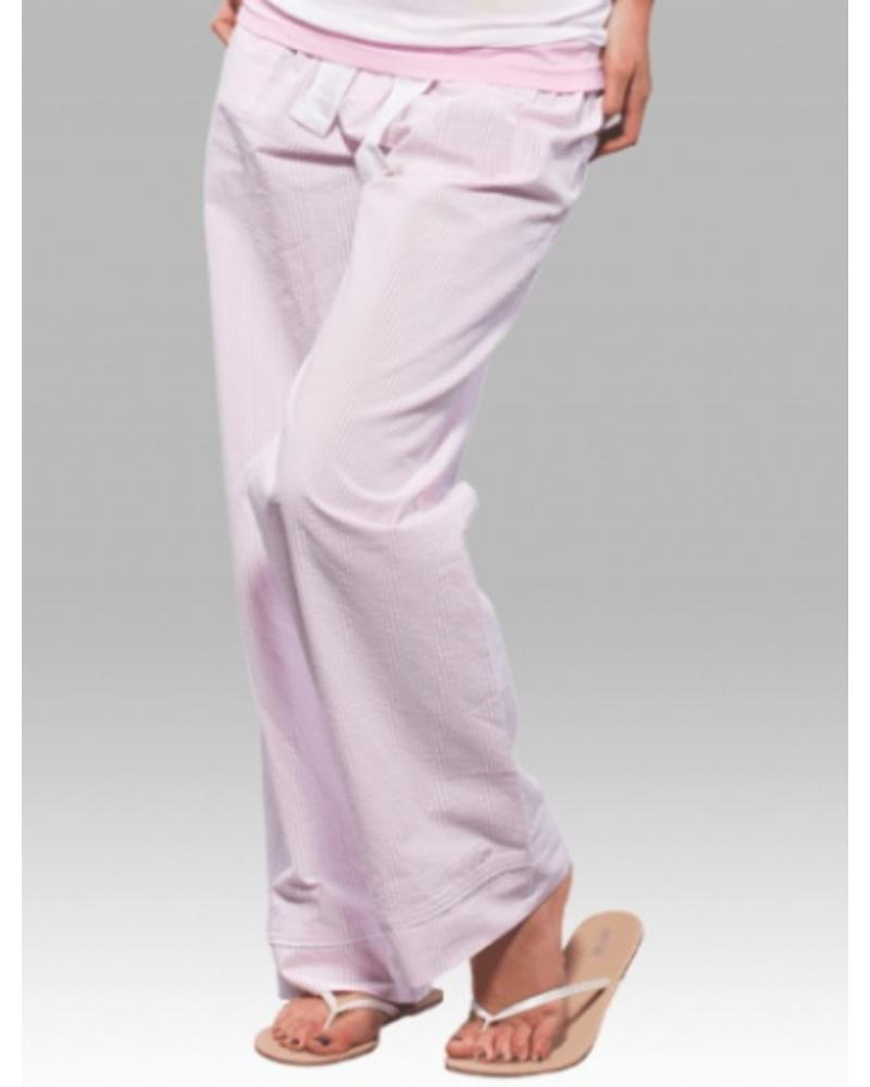 Boxercraft Seersucker Pant Pink Initial Styles Jupiter