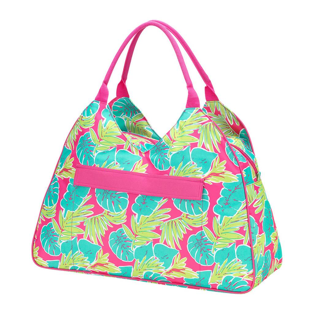 ce1374b33d WB Beach Bag - Totally Tropics - Initial Styles Jupiter