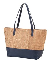 Wholesale Boutique Cork & Navy Purse