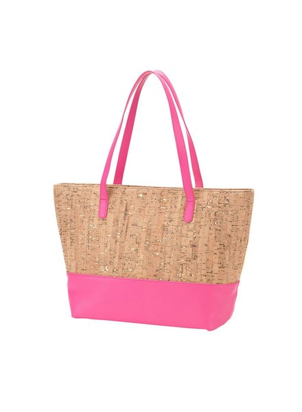 Wholesale Boutique Cork & Pink Purse