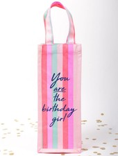8 Oak Lane Birthday Girl Wine Bag