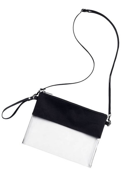Wholesale Boutique Personalized Clear Crossbody - 10 Color Choices