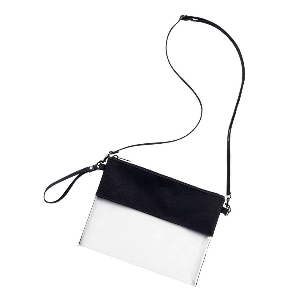 6c30c7ff3e95 Personalized Clear Crossbody - 10 Color Choices - Monogram Included