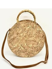 Round Cork Bag