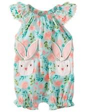 Mudpie Bunny Bubble Romper