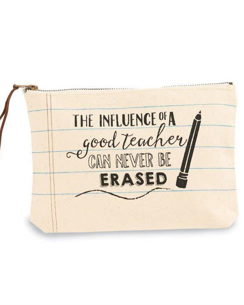 Mudpie Teacher Canvas Zip Bag