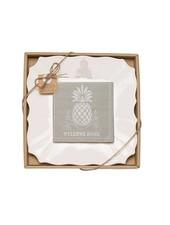 Mudpie Pineapple Cheese Set