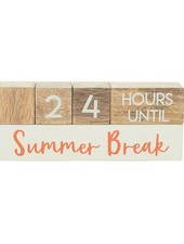 Mudpie Teacher Break Countdown Blocks