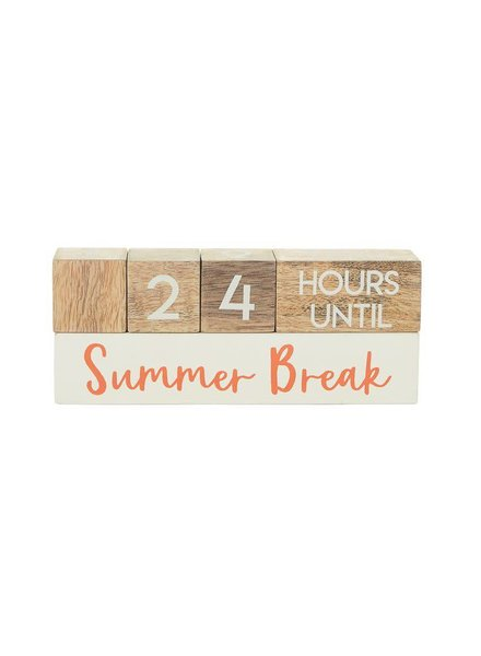 Mudpie Teacher Break Countdown Blocks