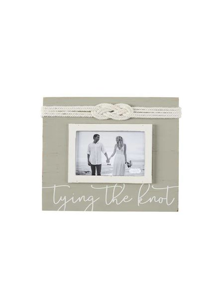 Mudpie Tying The Knot Picture Frame