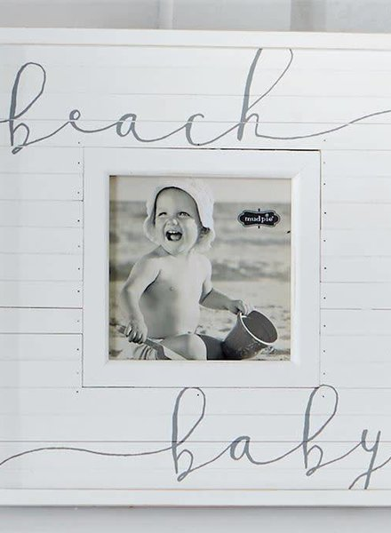 Mudpie Beach Baby Picture Frame