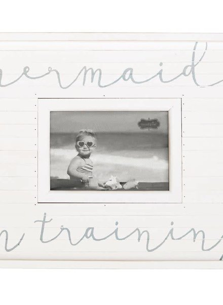 Mudpie Mermaid In Training Picture Frame
