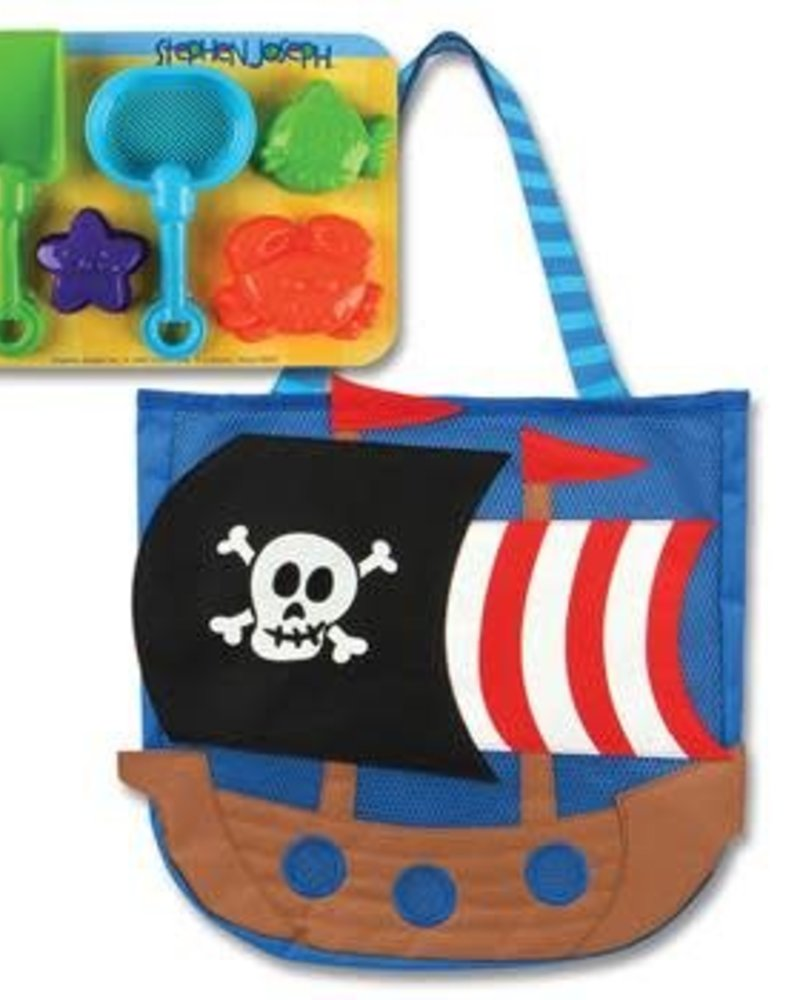 Stephen Joseph Beach Tote With Sand Toys